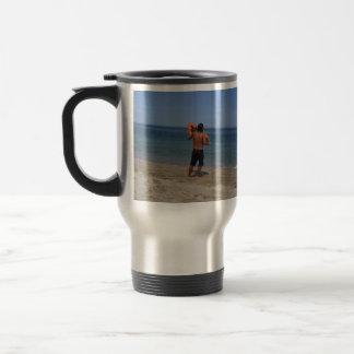 Skimboarder Contemplation Mug