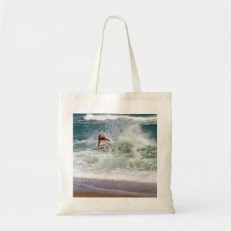 Skimboarding Canvas Bag