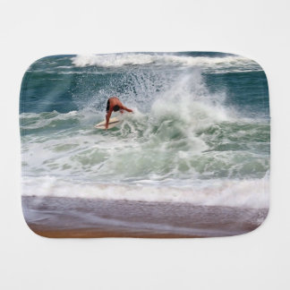 Skimboarding Burp Cloth