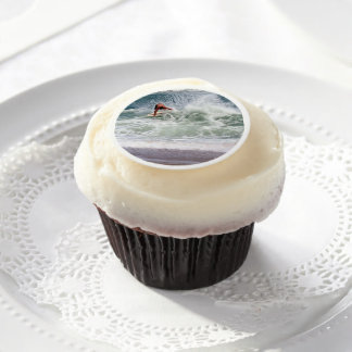 Skimboarding by Shirley Taylor Edible Frosting Rounds