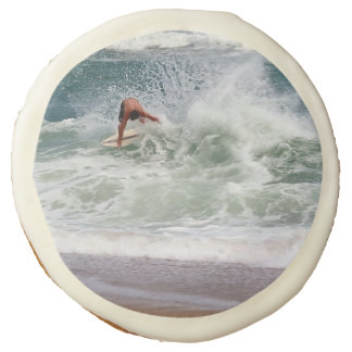 Skimboarding by Shirley Taylor Sugar Cookie