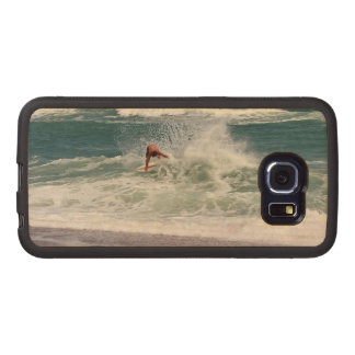 Skimboarding by Shirley Taylor Wood Phone Case