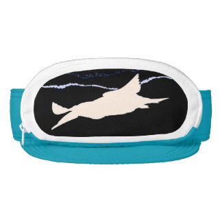 Skimmer Bird Wildlife Animal Cap-Sac Fanny Pack Visor