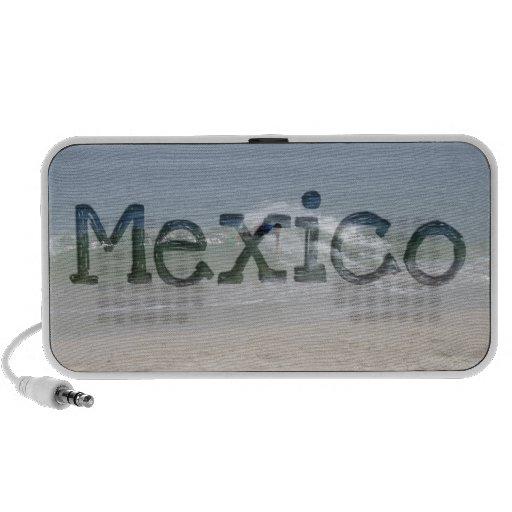 Skimmer Splash; Mexico Souvenir Mp3 Speakers