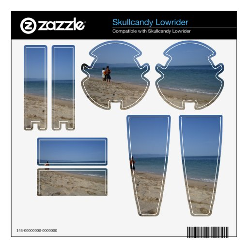Skimmers Waiting for a Wave Skullcandy Decal