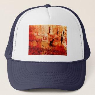 skimmin for manson trucker hat