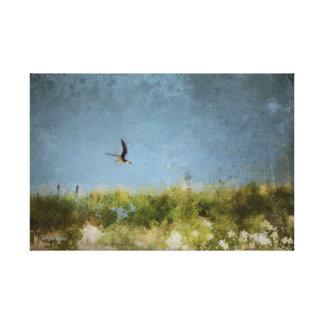 Skimming Bye Canvas Print