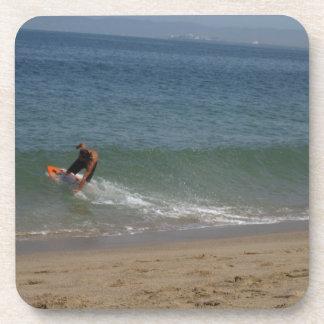 Skimming the Surf Coaster