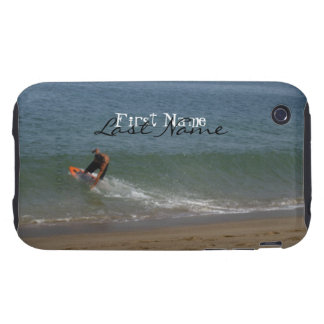 Skimming the Surf; Customizable iPhone 3 Tough Case