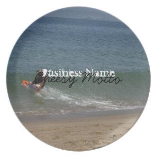 Skimming the Surf Dinner Plate