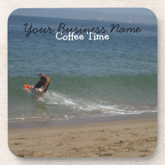 Skimming the Surf Drink Coaster