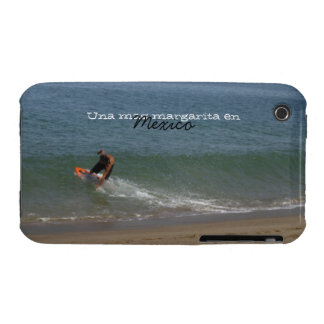 Skimming the Surf; Mexico Souvenir iPhone 3 Cover