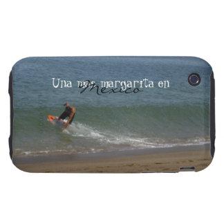 Skimming the Surf; Mexico Souvenir iPhone 3 Tough Case