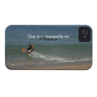 Skimming the Surf; Mexico Souvenir iPhone 4 Cover