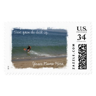 Skimming the Surf Postage