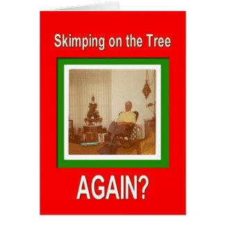 Skimpy Tree Card