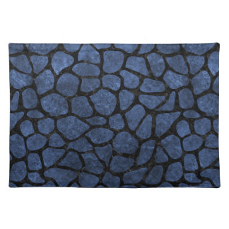 SKIN1 BLACK MARBLE & BLUE STONE PLACEMAT