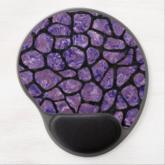 SKIN1 BLACK MARBLE & PURPLE MARBLE GEL MOUSE PAD