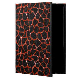 SKIN1 BLACK MARBLE & RED MARBLE (R) POWIS iPad AIR 2 CASE