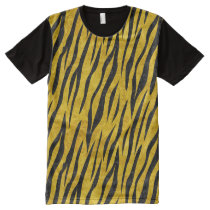 SKIN3 BLACK MARBLE & YELLOW MARBLE (R) All-Over-Print SHIRT