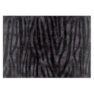 SKIN4 BLACK MARBLE & BLACK WATERCOLOR CUTTING BOARD