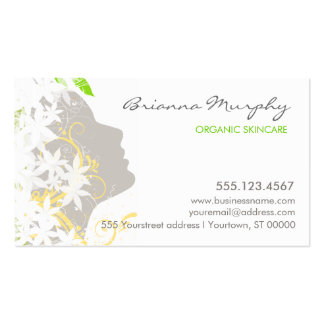 Skin and Hair Care Beauty Business Card
