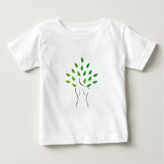 Skin and hair treatment with organic products baby T-Shirt