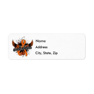 Skin Cancer Awareness 16 (Orange) Label