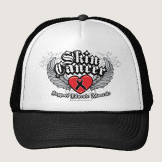 Skin Cancer Biker Wings Trucker Hat