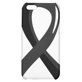 Skin Cancer Black Ribbon 3 Cover For iPhone 5C