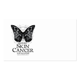 Skin Cancer Butterfly 2 Business Card Templates