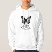 Skin Cancer Butterfly 2 Hoodie