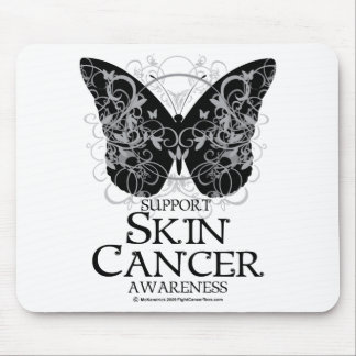 Skin Cancer Butterfly 2 Mouse Pad