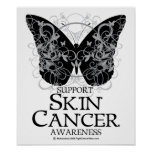 Skin Cancer Butterfly 2 Poster