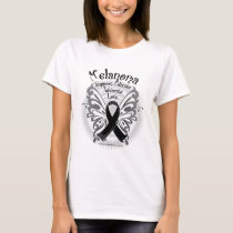Skin Cancer Butterfly 3 T-Shirt
