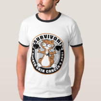 Skin Cancer Cat Survivor T-Shirt