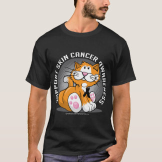 Skin Cancer Cat T-Shirt
