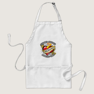 Skin Cancer Classic Heart Adult Apron