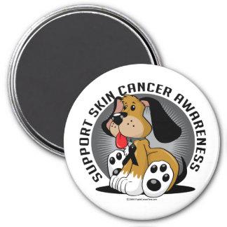 Skin Cancer Dog Magnet