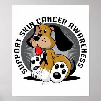 Skin Cancer Dog Poster