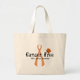 Skin Cancer Free Large Tote Bag