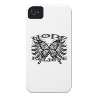 Skin Cancer Hope Believe Butterfly Blackberry Bold Covers