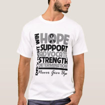 Skin Cancer Hope Support Advocate v2 T-Shirt