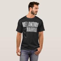 Skin Cancer Melanoma Awareness T-Shirt Black