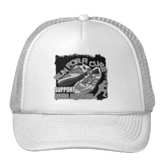 Skin Cancer - Men Run For A Cure Mesh Hat