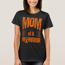 Skin Cancer Mom Of Warrior Autism Awareness T-Shirt