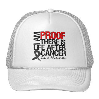 Skin Cancer Proof There is Life After Cancer Trucker Hat