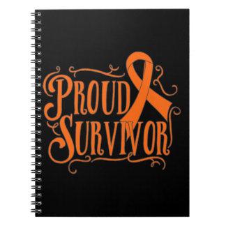 Skin Cancer Proud Survivor Note Books