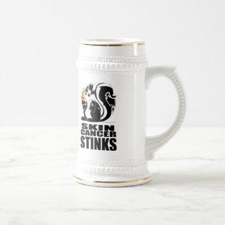 Skin Cancer Stinks Beer Stein