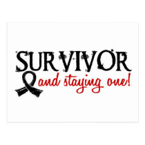 Skin Cancer Survivor 18 Postcard